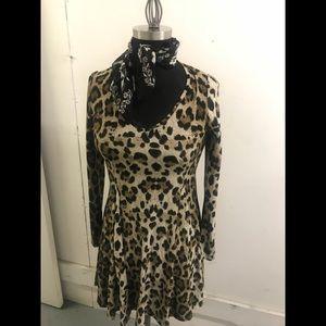 Chic Little Leopard Dress
